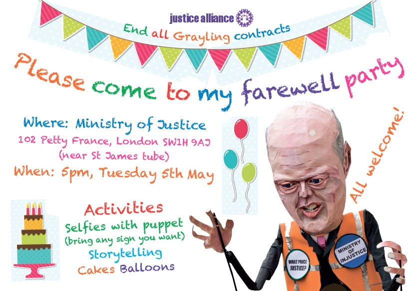 Farewell to Grayling 0505 – Farewell Party Invitation Email